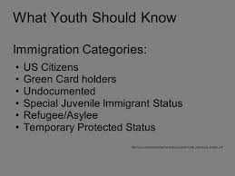 Immigration Special Legal Status And Education Ppt Download