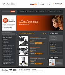 website design 11661 online shop kitchen custom website design