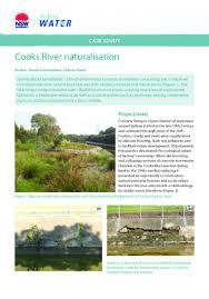 sydney native plants concrete channel naturalisation fish friendly marine