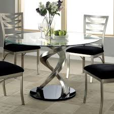 Glass Dining Room Table Set Glass Dining Tables Modern Room Table Decor 14
