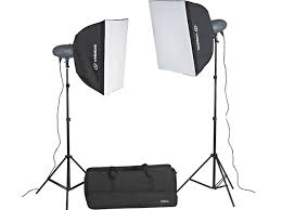 led studio lighting kit visico vl series 600ws studio light softbox kit pro 2x 300ws