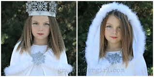 diy snow princess halloween costume