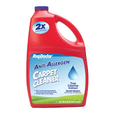 Rug Doctor Carpet Cleaning Machine Rug Doctor 96 Oz Anti Allergen Carpet Cleaner 4079 The Home Depot