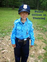 Boys Police Officer Halloween Costume Earth Faerie Momma Kid U0027s Deluxe Junior Police Costume