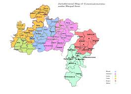 Central Time Zone Map by Customs U0026 Central Excise Bhopal