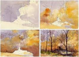 free step by step watercolor landscape painting demo u2013 follow