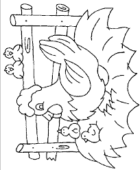 coloring page of a chicken chicken coloring page chicken free printable coloring pages animals