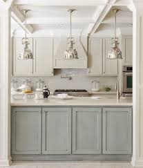 kitchen room 2017 two tone style grey feat ivory cabis with