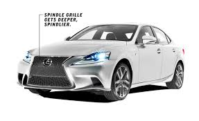 lexus sedan 2014 dissected all new 2014 lexus is u2013 feature u2013 car and driver