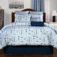 Nautical Bed Set Harbor Nautical Bedding Sets Cabin Place