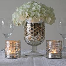 Silver Vases Silver Wedding Mercury Silver Footed Vase Large 2161345 Weddbook