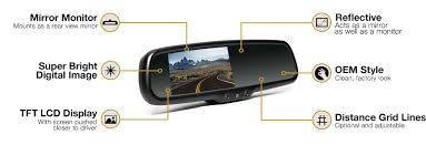 rvs 778718n backup camera system with replacement mirror display