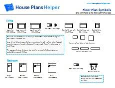 house floor plan symbols free floor plan symbols