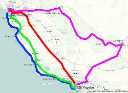map us route 1 los angeles san francisco
