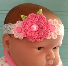 crochet baby headband crochet headbands for babies 3 trendy mods