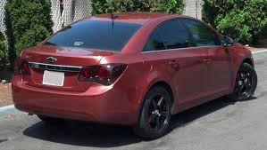2014 cruze tail lights chevrolet cruze tinted tail l overlays light film covers
