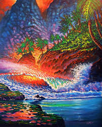 color mosaic painting by joseph ruff