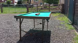 burrowes portable billiard and pool table outdoor pool table