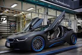 Bmw I8 Body Kit - a bmw i8 from thailand has recently received new adv 1 wheels with