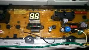 service tombol star pada mesin cuci samsung wa80v4 youtube