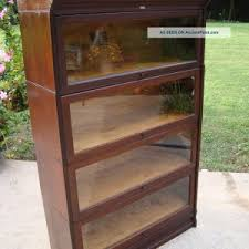 Lawyers Bookcase Plans Furniture Put Your Belongings In Neat Way With Barrister Bookcase