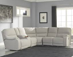 Benchcraft Leather Sofa by Power Reclining Sectional With Console By Benchcraft Wolf And
