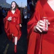 Coca Cola Halloween Costume Madonna Scrapbook Twitter