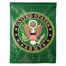 Military Flag Patch Army Garden Flag