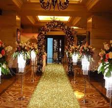 aisle runners for weddings aliexpress buy 20 m per roll 1m wide gold pearlescent cheap aisle