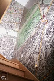 Vintage Map Wallpaper by Bespoke Digital Photo Canvas Wallpaper Wall Murals Roller