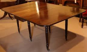 Mahogany Drop Leaf Table Regency Mahogany Drop Leaf 8 Seater Dining Table 133762