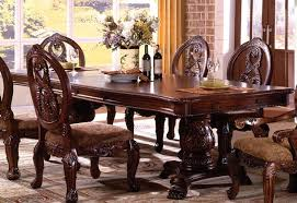 buy furniture of america cm3845p ch t tuscany i formal dining