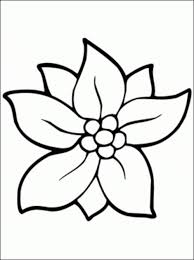 picture of a flower to color printable coloring pages gullu