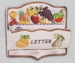fruit by mail ceramic fruit