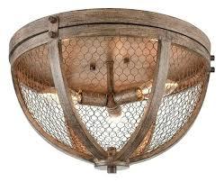 wood flush mount ceiling light farmhouse flush mount ceiling light vintage flush mount 3 light wood