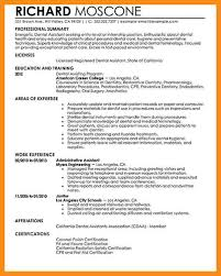 dentist assistant resume dental dental assistant resume entry