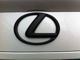 lexus emblem painted lexus emblems today how do they look clublexus lexus