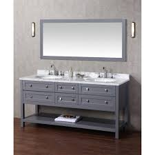 bathrooms design stunning floating wall mount double sink
