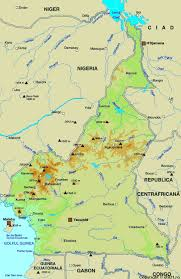 map of cameroon of cameroon maps worl atlas cameroon map maps maps of