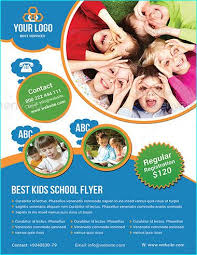 school brochure design templates 20 professional educational psd school flyer templates