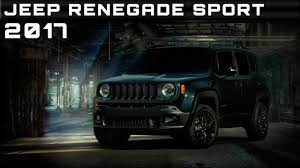 jeep price 2017 2017 jeep renegade sport review rendered price specs release date