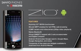 kyocera android cricket launching android phone next month kyocera zio
