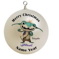 personalized bobgoblin from wallykazam christmas ornament custom