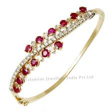 bracelet designs gold images Diamond ruby bracelet in yellow gold bracelet ruby rings jpg