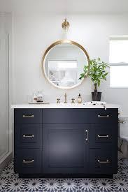 navy vanity navy bathroom vanity with white quartz countertop transitional