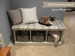 woodworking tool plans entryway bench