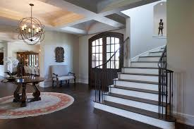 Entry Chandelier Hall Light Fixtures Entry Traditional With Arched Doorway