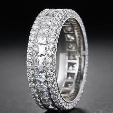 white gold eternity ring magnificent 18k white gold eternity ring