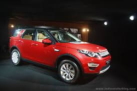 land rover discovery sport red land rover discovery sport petrol launched in india