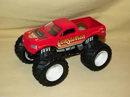 gunslinger monster truck wheels mattel 2004 loose ford 4x4 jam